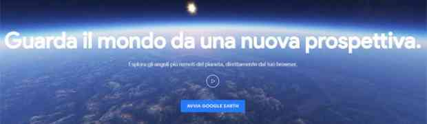 Le novità di Google Earth